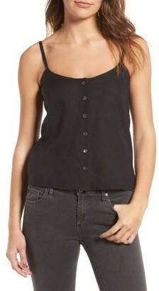 Women's Ag Austen Button Front Tank $138 thestylecure.com