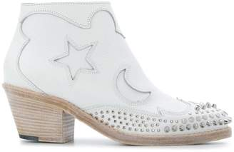 McQ Solstice studded ankle boots