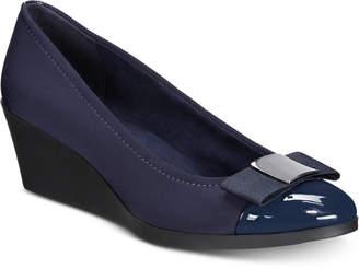 Bandolino Lerocco Slip-On Wedges Women's Shoes