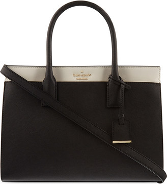 kate spade new york Cameron Street Candace leather satchel $360 thestylecure.com