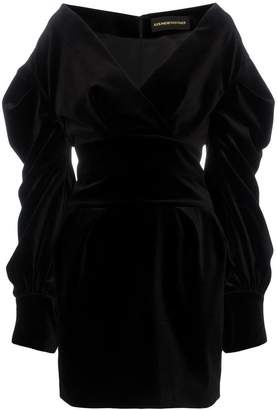 390481bd07 Alexandre Vauthier V-Neck Mini-Dress