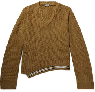 Lanvin Oversized Wool And Alpaca-Blend Sweater