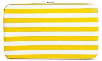 Merona; Women's Hinge Case Clutch Faux Leather Handbag Yellow - Merona; $16.99 thestylecure.com