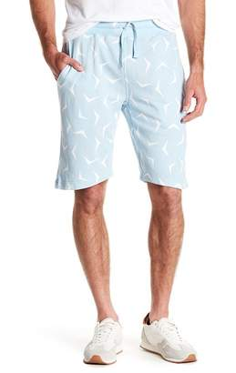 Wellington Boomerang Print Shorts