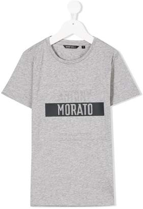 Antony Morato Junior short-sleeved logo T-shirt