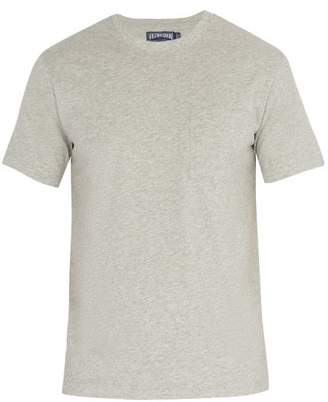 Vilebrequin Teegus Cotton T Shirt - Mens - Grey