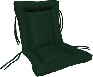 Highland Dunes European Quilt Indoor/Outdoor Sunbrella Chair Cushion Highland Dunes