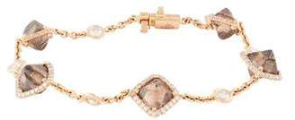 Diamond in the Rough 18K Diamond Orielle Station Bracelet