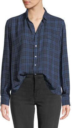 Frank And Eileen Plaid Patch-Pocket Button-Down Shirt