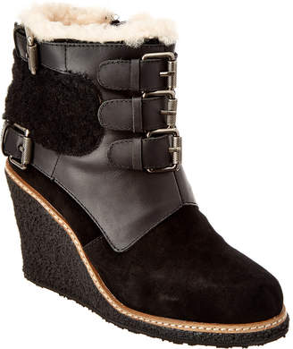 Australia Luxe Collective Women's Monk Suede Wedge Boot