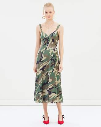 Goldie Silk Dress