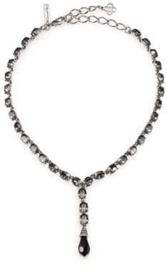 Oscar de la Renta Crystal Briolette Y Necklace