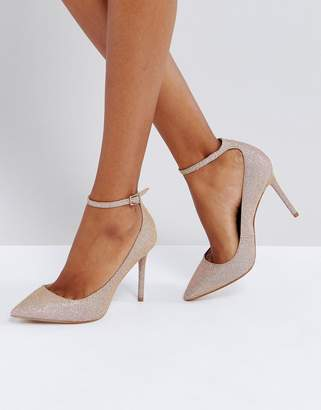 KG by Kurt Geiger Kurt Geiger London Estha Strap Sparkle Pumps