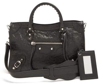 Balenciaga Classic Metallic Edge City S Bag - Womens - Black