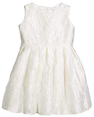 Helena Rose Jacquard Organza Dress, Size 2-6