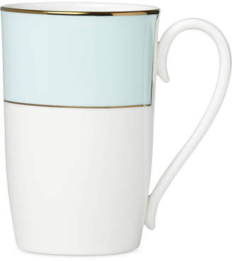 Lenox Pleated Colors Aqua Mug