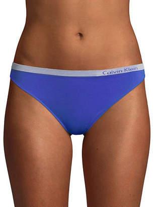 Calvin Klein Pure Seamless Low-Rise Thong