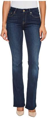 7 For All Mankind Kimmie Bootcut Jeans in Dark Moonlight Bay Women's Jeans
