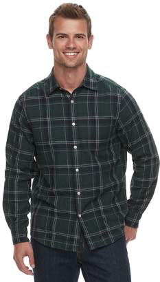 Sonoma Goods For Life Men's SONOMA Goods for Life Modern-Fit Long Sleeve Double Weave Button-Down Shirt