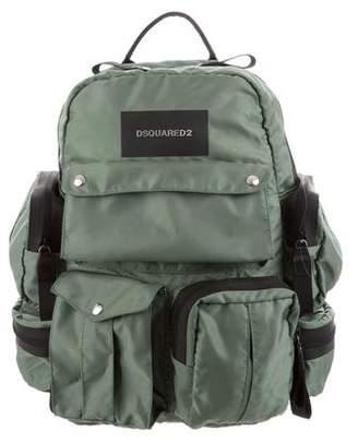DSQUARED2 Nylon Utilitary Backpack