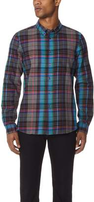 Paul Smith Plaid Tailored Fit Shirt