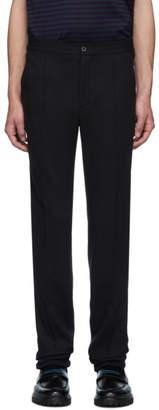 Lanvin Black Jersey Suit Trousers