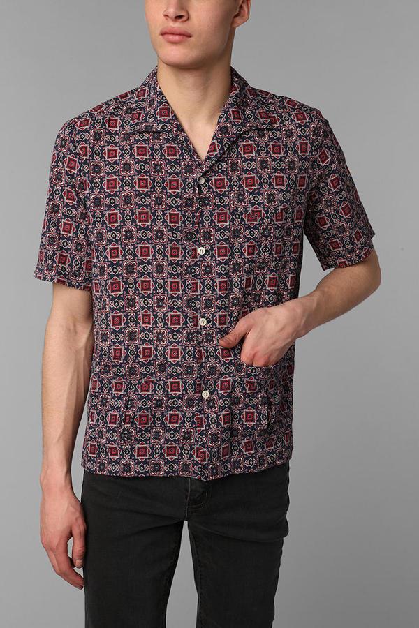 Urban Outfitters Monitaly Italian Collar Shirt