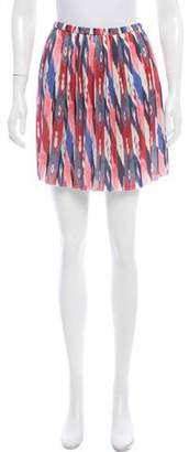Etoile Isabel Marant Loose-Pleat Mini Skirt