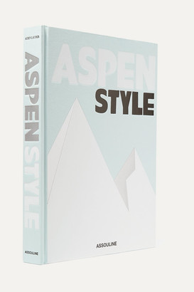 Assouline Aspen Style By Aerin Lauder Hardcover Book - Gray