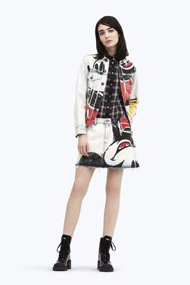 Marc Jacobs CONTEMPORARY Mickey Mouse Denim Mini Skirt