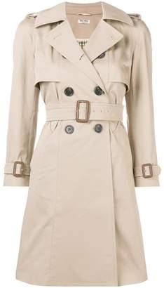 Miu Miu classic trench coat