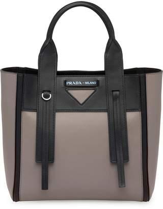 Prada Ouverture small leather bag