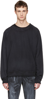 Faith Connexion Black Oversized Washed Pullover $440 thestylecure.com