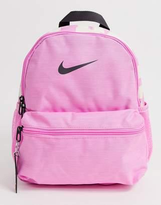 Nike pink just do it mini backpack