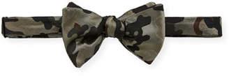 Edward Armah Men's Citi Camo-Print Silk Bow Tie