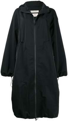 Bottega Veneta oversized hooded coat