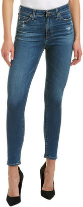 AG Jeans The Mila 8 Years Infamy Super High-Rise Skinny Ankle Cut
