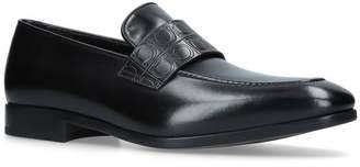 Salvatore Ferragamo Logo-Embossed Loafers