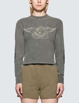 Yeezy Season 6 Printed Thermal Sweatshirt