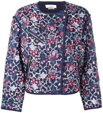Etoile Isabel Marant cropped floral jacket