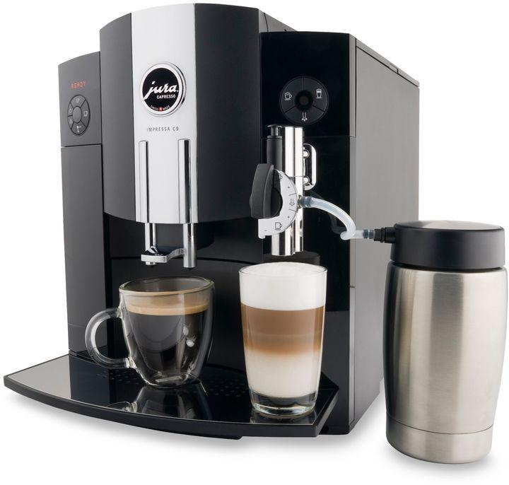 One Touch Jura® 13422 Impressa C9 Automatic Espresso Machine and Coffee Center