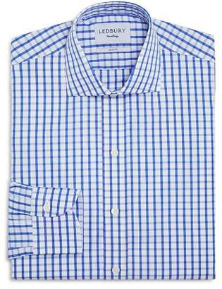 Thomas Pink Ledbury Box Check Slim Fit Dress Shirt