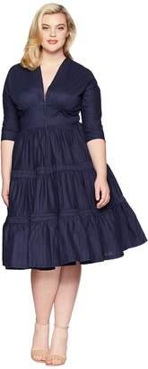 Unique Vintage Plus Size Holt Swing Dress Women's Dress