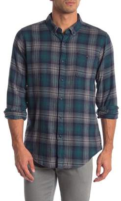 Ezekiel Daley Long Sleeve Woven Plaid Shirt