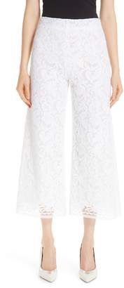 ADAM by Adam Lippes Lace Crop Wide Leg Pants