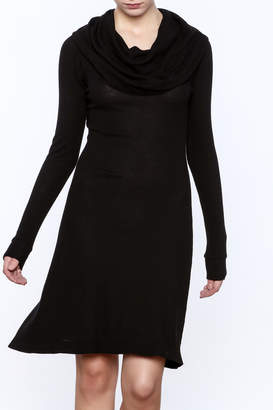 C/Meo COLLECTIVE Black Stretch Dress