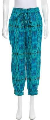 Calypso Linen High-Rise Pants