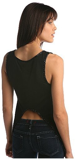 Beaded Open Back Tank