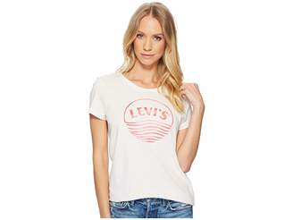Levi's Womens Slim Crew Neck Tee