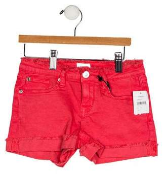 Hudson Girls' Five Pockets Frayed Shorts w/ Tags